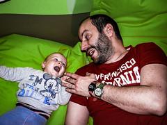play_father_son (ladic_1) Tags: father son play color czech panasonic dmc fz50