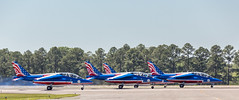 Patrouille de France-13 (4myrrh1) Tags: patrouilledefrance french aerobatic flying flight flightdemonstrationsquadron flightdemonstrationteam military maxwell afb al alabama 2017 aircraft airplane aviation airshow airplanes airport airforce canon 6d ef70300l