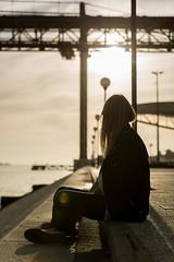 LISBON 06 (Raphaël Melloul) Tags: sunset bridge 25 april avril orange silhouette nikon light life lisbon lisbonne lisboa portugal nikkor nikond800 photographer photographies photos photographe photography photo picoftheday photograph raphael melloul