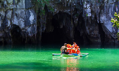 Puerto Princesa, Philippines - February 19, 2015: Underground river (AlfonsoFD) Tags: puertoprincesa authentic canoneos asia nature water 2015 canon philippines elnido beach bohol cave travel undergroundriver canon60d underground