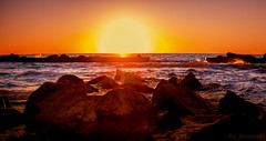 The Golden Surf (JDS Fine Art Photography) Tags: beach ocean sunset golden surf goldensurf goldenlight depthoffield sun waves landscape oceanscape seascape beauty naturesbeauty naturalbeauty inspirational
