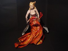 Morphologie du feu (火の形態学) (Zenshiro Toshinao (Origami Photos)) Tags: 折り紙 origami paperfolding figure fire