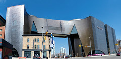 The National Music Centre (Garry9600) Tags: lumix fz200 calgary alberta canada nationalmusiccentre architecture building modern stitchedpanorama