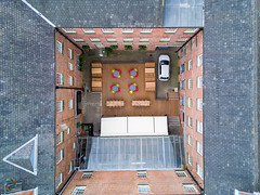 103/365 Birds Eye View ([inFocus]) Tags: leeds england unitedkingdom gb mavic mavicpro dji 365 3652017 project365 creative nationofshopkeepers pub bar beergarden courtyard