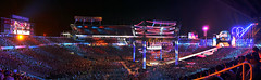 Wrestlemania 33 (Bryan Frank Photography) Tags: wrestling wwe wweset wwestage wweproduction wrestlemania 33 citrusbowl camping world stadium undertaker hhhtripleh crowd lighting vince wweraw wrestlemaniasettingup wrestlers lights pyrotechnics