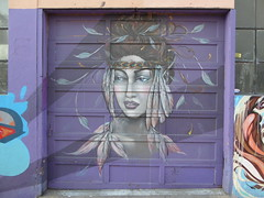 Amandalynn street art, San Francisco (duncan) Tags: graffiti sanfrancisco amandalynn