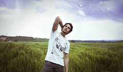 Points of view (Federico Massimi) Tags: stars universe portrait selfportrait sky clouds photomanipulation photoshop landscape nature green boy pose shooting photoshoot canon canon6d beautiful italy outside space abstract conceptual art