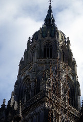 img988 (foundin_a_attic) Tags: bayeux cathedral normandy france spire steeple tower belfry