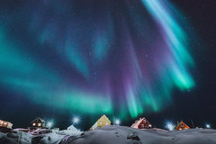 Ilulissat Aurora 3 (Atmospherics) Tags: greenland aurora auroraborealis ilulissat arctic greenlandwinter atmospherics ice polar northernlights