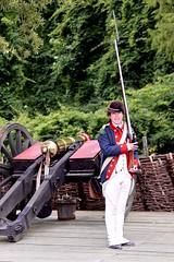 Guarding the Continental Army encampment (nutzk) Tags: virginia yorktown americanrevolutionmuseum recreated continentalarmy encampment