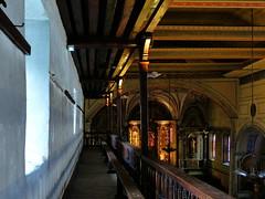 (MAGGY L) Tags: dmcfz200 paysbasque églises architecture intérieur galeries bois artreligieux