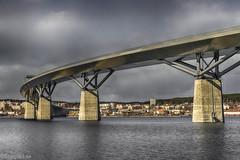 Sundsvallsbron (johan.bergenstrahle) Tags: 2017 finepics sundsvall april architecture arkitektur bridge bro cityscape havet hdr sea spring sverige sweden vã¥r