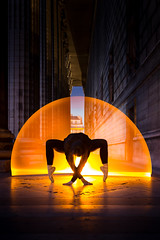 Light of star (Sabrou Yves Photograff) Tags: lightpainting tube dance ballet sigma art 35mm paris night ballerine dolls team