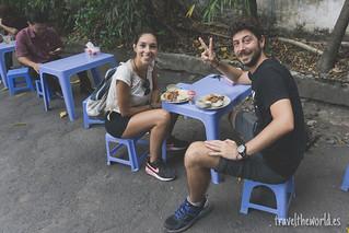 Desayunando con Trung