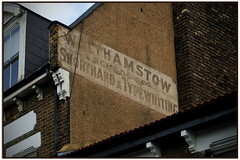 GHOSTSIGN FOR THE WALTHAMSTOW SCHOOL of SHORTHAND & TYPEWRITING (StockCarPete) Tags: ghostsign oldsign sign typewriting shorthand walthamstow walthamstowschoolofshorthandtypewriting whisperingwalls