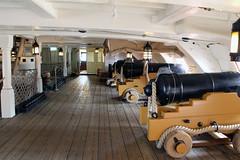 HMS Victory Gun Deck (NTG's pictures) Tags: portsmouth historic naval dockyard hms victory 104gun firstrate ship upper gun deck captains cabin