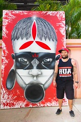 17992298_960700087400750_8125301067806864480_n (BENET - BNT) Tags: bh tattoo festival benet bnt kren graffiti rosto indígena pindorama brasil live paint guerreiro ancestral