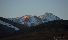 Denti illuminati (EmozionInUnClick - l'Avventuriero's photos) Tags: gransasso monteinfornace monteprena tramonto