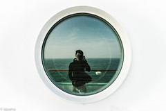 This is me (satoshi etoh) Tags: cruise portrait self sea ship me i photo