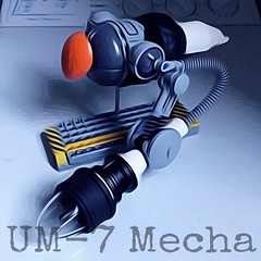 R&D UM-7 Mecha Concept (Marco Marozzi) Tags: lego legomech moc legodesign mecha drone droid robot antigravity marco marozzi maschinen krieger mak