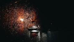Raindrops (Nika Watson) Tags: photography photographer sky colors mood nature ukraine landscape spring summer vsco vscoua vscocam vscosea vsconature moment insta like girl weather details beautiful ua warm rain raindrops night window lights