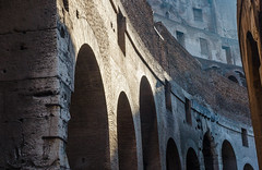 What Sights Were Seen by Those Who Passed Through These Arches... (Colosseum, Rome, Italy) (peterwaller) Tags: colosseum rome italy europe arches building arch architecture old ancient ruins roman