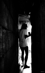 Finding Slippers <3 (BNDC) Tags: light bnw bw balckandwhite family city new people street manila bndc