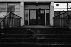 Abandon Hope (John fae Fife) Tags: fujifilmx noiretblanc xe2 scotland monochrome aberdeen bw nb blackandwhite