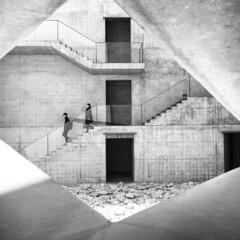 Chichu Museum. #tadaoando #masterpiece #brutal #japan#naoshima... (lorenzogrif) Tags: monochrome japan naoshima streetphotography tadaoando brutal museum architecture iphone myfeatureshoot masterpiece concrete