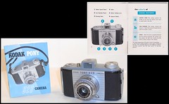 Kodak Pony 828 camera and manual (camera.etcetera) Tags: kodak pony camera 828 usa manual
