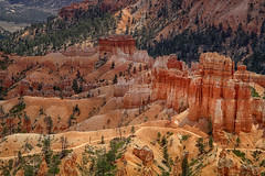 Bryce Canyon (Steven Olmstead) Tags: landform erosion sedimentary rockformations utah bryce