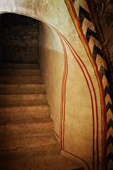 Follow the steps (Tiigra) Tags: verona veneto italy it 2011 architecture church color interior ornament romanesque stairs