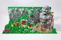 Forest sculptor-01 (ToyForce 120) Tags: lego robot robots mecha mech mechanic legomech legomoc