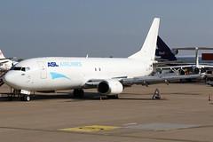 OE-IAJ 29042017 (Tristar1011) Tags: eblg lgg liègeairport aslairlinesbelgium tntairways boeing 737400sf b734 oeiaj cargo freighter