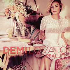 Demi Lovato // In Real Life (ohshizzitsdrew) Tags: life real with cd pop cover strong demi covers chance sonny stay recolor in unbroken lovato 2011 a
