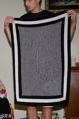 Boston Terrier Illusion Blanket (SRBenson1) Tags: bostonterrier knitting illusion blanket knitterdmb