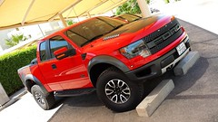 Ford SVT Raptor (ZDistrict) Tags: red ford truck sand driving mud offroad machine raptor shelby trucks svt 2013 svtraptor