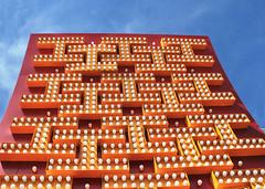 Lookin' Up at What's Coming Down (skipmoore) Tags: sign museum lasvegas lightbulbs explore neonboneyard horseshoecasino