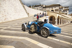Bugatti Mille Miglia 2013  The Final (Bugatti Automobiles S.A.S.) Tags: italy race exclusive assisi bugattitype35 heritagecars millemiglia2013