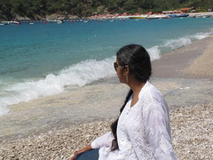 IMG_0575 (davidmagier) Tags: ocean beach sunglasses turkey tur ponytail aruna ldeniz