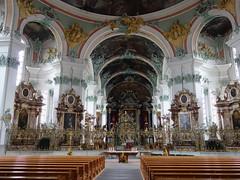 St. Gallen, Switzerland (posterboy2007) Tags: church switzerland cathedral ceiling fresco stgallan