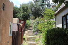 The stone steps at Rosswood Terrace (fordsbasement) Tags: stairs losangeles highlandpark garvanza 90042