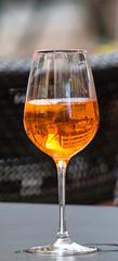 Vienna in golden liquid (CecilieSonstebyPhotography) Tags: vienna wien orange reflection glass café closeup canon reflections drink bokeh lipstick liquid markiii cafélife ef70200mmf4lisusm
