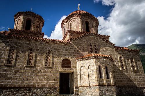 Church in Rostuse village, Macedonia