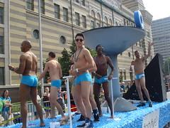 Cadillac Barbie Pride Parade 2013 - Indpls (S.S.Poseidon) Tags: shirtless indianapolis indiana parade gaypride speedo float indypride cadillacbarbie