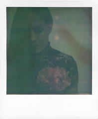 Sophie (agrippinamaior) Tags: portrait real polaroid sx70 friend analogue expired happytimes 0909 atz artistictimezero