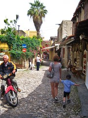 Walking in Rhodes (desben) Tags: greece turquie greekislands rodos rhodes romain genevieve