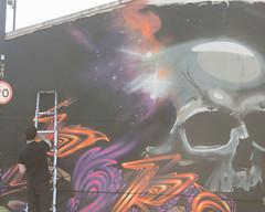 (e_alnak) Tags: streetart outside skull graffiti contemporaryart urbanart artists streetartist summertime spraypaint publicart streetartists graffitiwriters guerrillaart ealnak guerrillastreetartists culturaljammer sporeandmacism graffitiactionshots