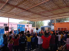 Escuela Municipal de La Tirana Compañía La Maleta y su obra Don Basurolo 2