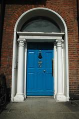 georgian doors blue - dublin IV
